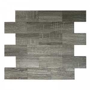 Fashion Style Mix Aluminium Mosaico Tegel Peel en Stick Subway Backsplash Tegels
